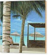 Destiny Turks And Caicos Wood Print