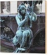 Detail Fountain City Hall  Hamburg Wood Print
