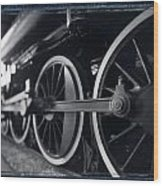 Detail Steam Engine Wood Print