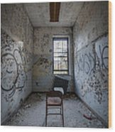 Detention Room Wood Print