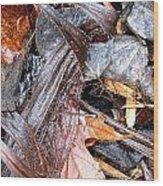 Detritis Wood Print