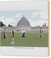 Detroit - Horticultural Conservatory - Belle Isle Park - 1905 Wood Print