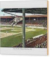 Detroit - Navin Field - Detroit Tigers - Michigan And Trumbull Avenues - 1914 Wood Print