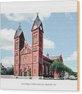 Detroit - Sheridan Avenue - St Anthony Catholic Church - 1910 Wood Print