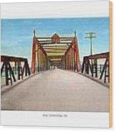 Detroit - The Belle Isle Bridge - 1908 Wood Print