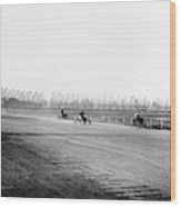 Detroit Auto Race, C1902 Wood Print