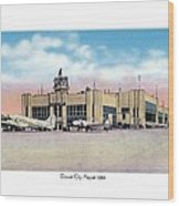 Detroit - City Airport - 1944 Wood Print