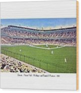 Detroit - Navin Field - 1922 Wood Print