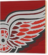Detroit Red Wings Wood Print