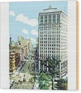 Detroit - The David Whitney Building - Woodward Avenue - 1918 Wood Print