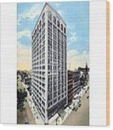 Detroit - The Kresge Building - West Adams Street - 1918 Wood Print