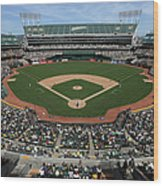 Detroit Tigers Vs. Oakland Athletics Wood Print