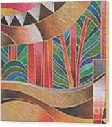 Deuba Sunset Wood Print