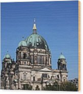 Deutscher Dom Wood Print
