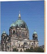 Deutscher Dom Wood Print