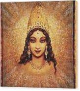 Devi Darshan Wood Print by Ananda Vdovic