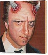 Devil Sean Wood Print