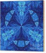 Devilish Dream Fractal Wood Print