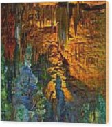 Devils Cavern Bari Greece Wood Print