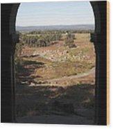 Devils Den From Little Round Top In Gettysburg Wood Print by William Kuta