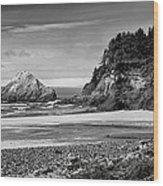 Devil's Elbow Beach Wood Print