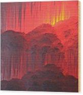 Devil's Hideout Wood Print
