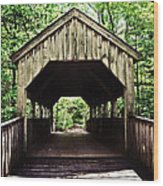 Devil's Hopyard Wood Print