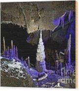 Devils's Cave 5 Wood Print