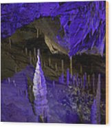 Devils's Cave 7 Wood Print