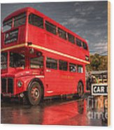 Devon Routemaster  Wood Print