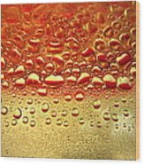 Dew Drops The Original 2013 Wood Print