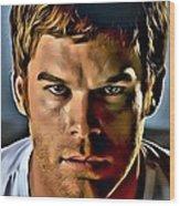 Dexter Portrait Wood Print