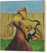 Dexter Wood Print