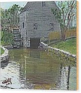 Dexter's Grist Mill - Cape Cod Wood Print