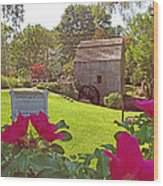 Dexters Grist Mill Two Wood Print