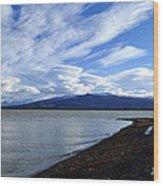 Dezadeash Lake Wood Print