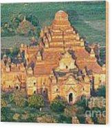 Dhammayangyi Temple - Bagan Wood Print
