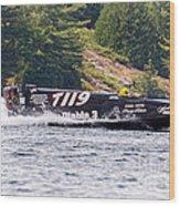 Diablo 3 Speedboat Wood Print