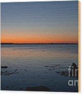 Dialing Up Dawn Wood Print