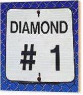 Diamond 1 Wood Print