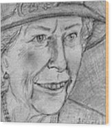 Diamond Jubilee Queen  Wood Print