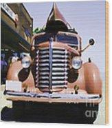 Diamond T Truck - Sahara Wood Print