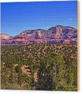 Diamondback Gulch Near Sedona Arizona Wood Print