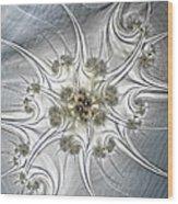 Diamonds Wood Print by Sharon Lisa Clarke
