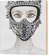 Diamonds Wood Print by Yosi Cupano