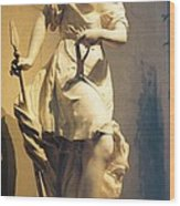 Diana Goddess Of The Hunt Wood Print