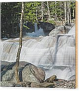 Dianas Bath - North Conway New Hampshire Usa Wood Print by Erin Paul Donovan