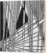 Diatribe Wood Print