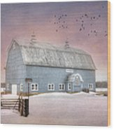 Dickey Hill Farm Wood Print