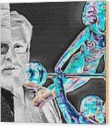 Dikul Wood Print